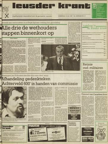 Leusder Krant 1987-07-16