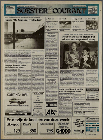 Soester Courant 1992-02-12