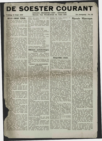 Soester Courant 1945-09-14