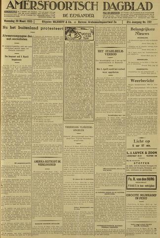 Amersfoortsch Dagblad / De Eemlander 1933-03-29