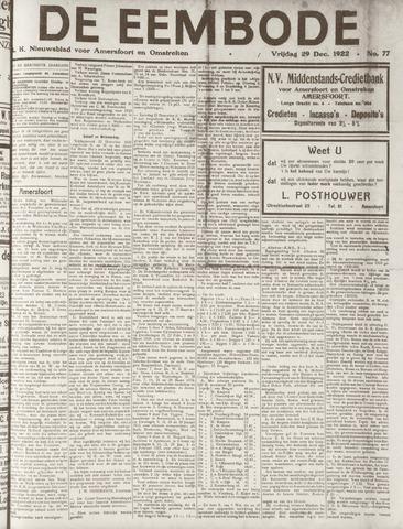 De Eembode 1922-12-29