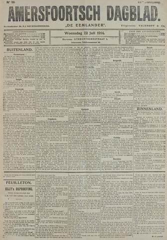 Amersfoortsch Dagblad / De Eemlander 1914-07-22