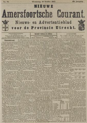 Nieuwe Amersfoortsche Courant 1917-10-10