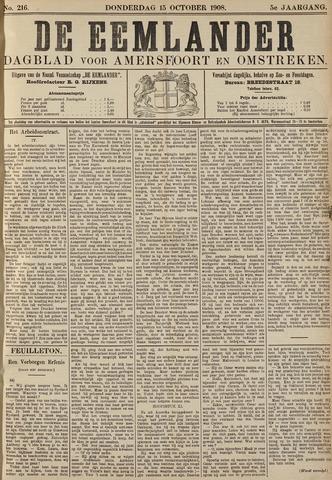 De Eemlander 1908-10-15