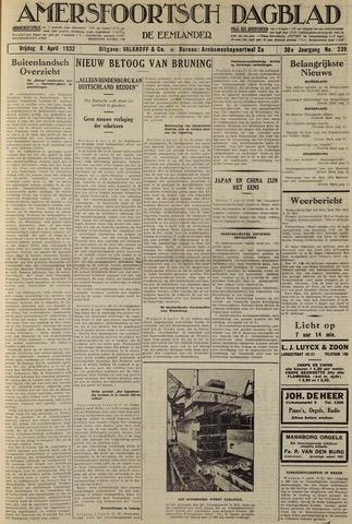 Amersfoortsch Dagblad / De Eemlander 1932-04-08