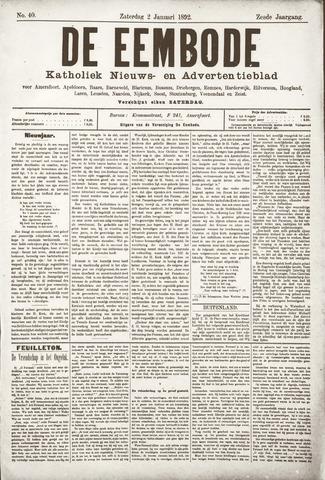 De Eembode 1892