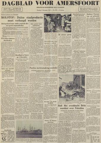Dagblad voor Amersfoort 1947-12-09