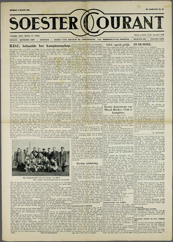 Soester Courant 1960-03-08