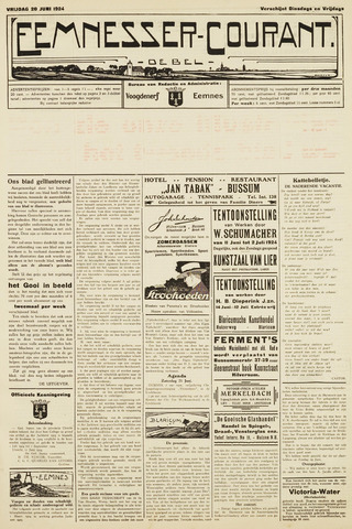 Eemnesser Courant 1924-06-20