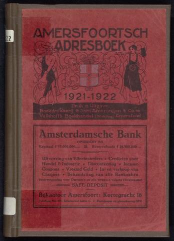 Adresboeken Amersfoort 1921-01-01