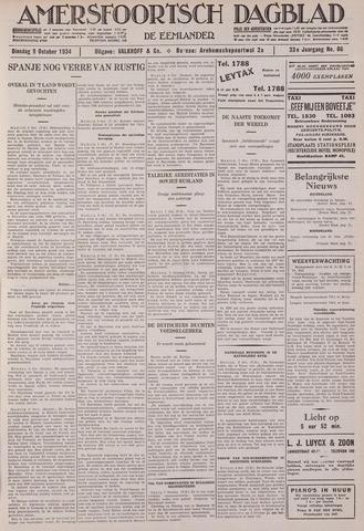 Amersfoortsch Dagblad / De Eemlander 1934-10-09