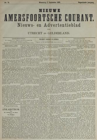 Nieuwe Amersfoortsche Courant 1890-09-17