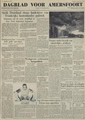 Dagblad voor Amersfoort 1950-09-09