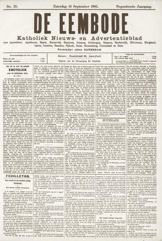 De Eembode 1905-09-16