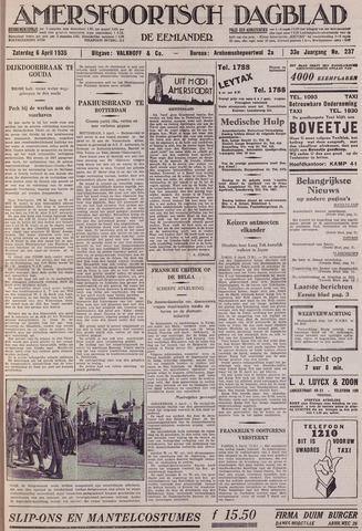 Amersfoortsch Dagblad / De Eemlander 1935-04-06