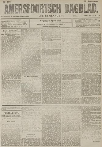 Amersfoortsch Dagblad / De Eemlander 1913-04-04