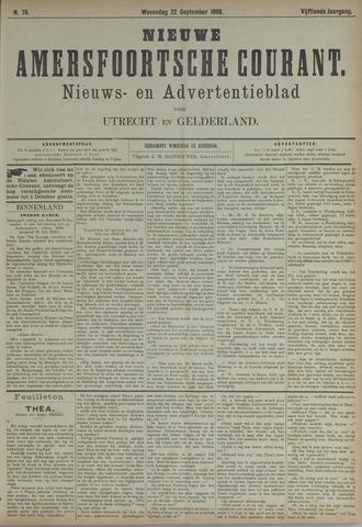 Nieuwe Amersfoortsche Courant 1886-09-22