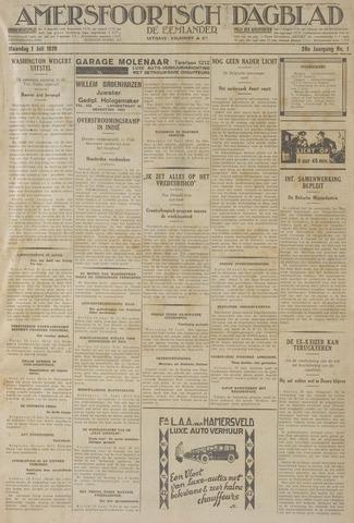 Amersfoortsch Dagblad / De Eemlander 1929-07-01