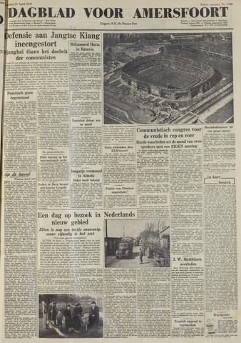 Dagblad voor Amersfoort 1949-04-25