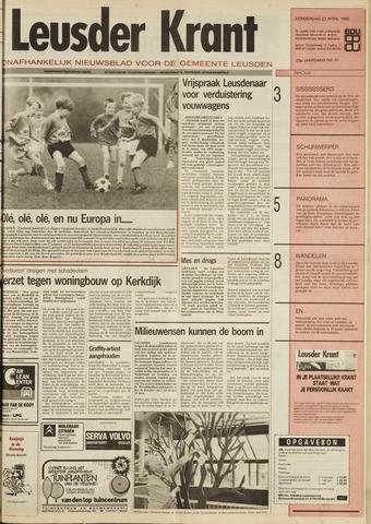 Leusder Krant 1992-04-22
