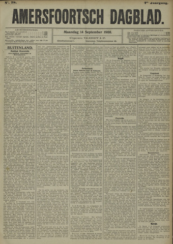 Amersfoortsch Dagblad 1908-09-14
