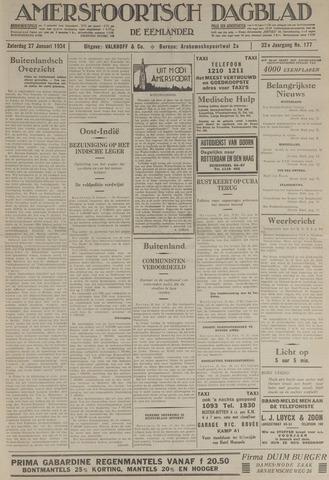 Amersfoortsch Dagblad / De Eemlander 1934-01-27
