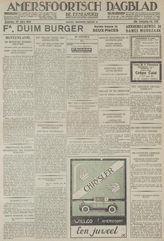 Amersfoortsch Dagblad / De Eemlander 1928-04-28