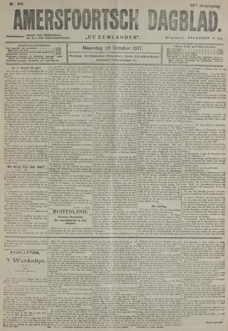 Amersfoortsch Dagblad / De Eemlander 1917-10-29