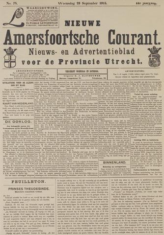 Nieuwe Amersfoortsche Courant 1915-09-29