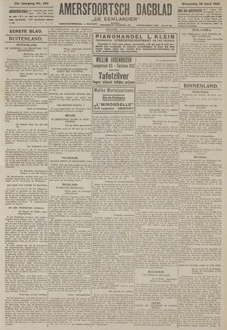 Amersfoortsch Dagblad / De Eemlander 1925-04-29