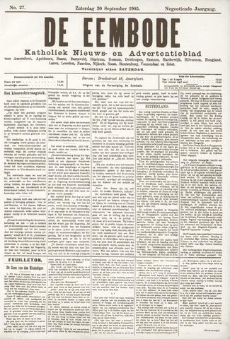 De Eembode 1905-09-30