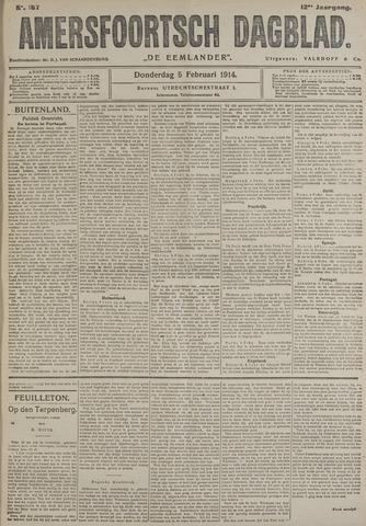 Amersfoortsch Dagblad / De Eemlander 1914-02-05