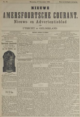 Nieuwe Amersfoortsche Courant 1895-11-27