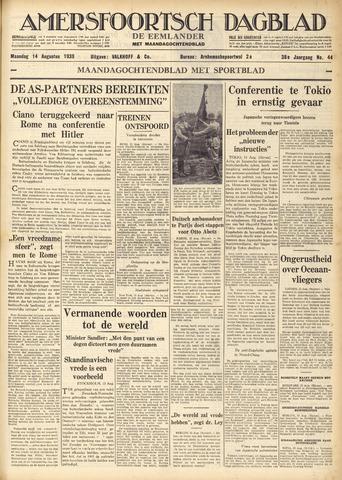 Amersfoortsch Dagblad / De Eemlander 1939-08-14