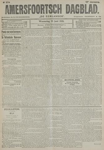 Amersfoortsch Dagblad / De Eemlander 1915-06-23