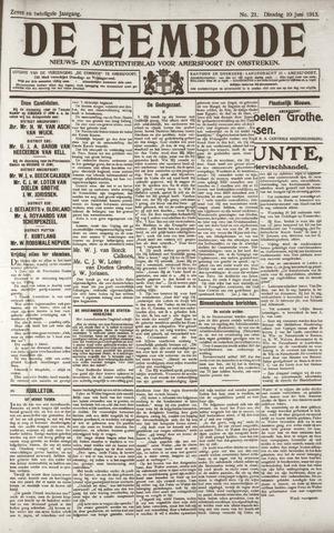 De Eembode 1913-06-10