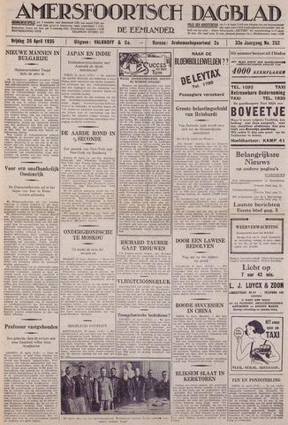 Amersfoortsch Dagblad / De Eemlander 1935-04-26