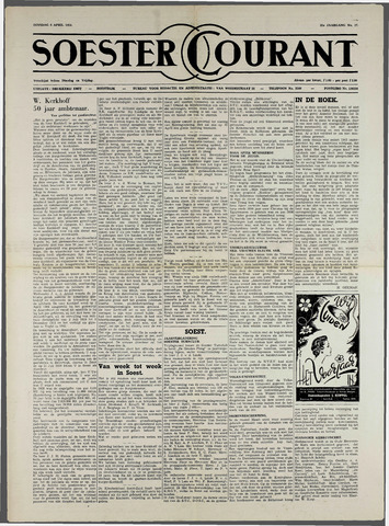 Soester Courant 1954-04-06