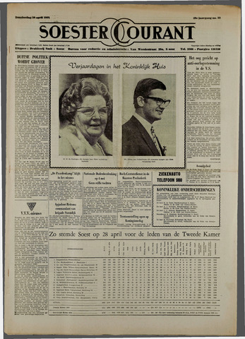 Soester Courant 1971-04-29