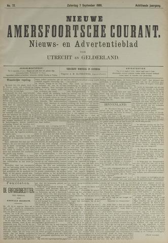 Nieuwe Amersfoortsche Courant 1889-09-07