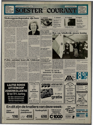 Soester Courant 1992-09-02