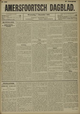 Amersfoortsch Dagblad 1910-12-07