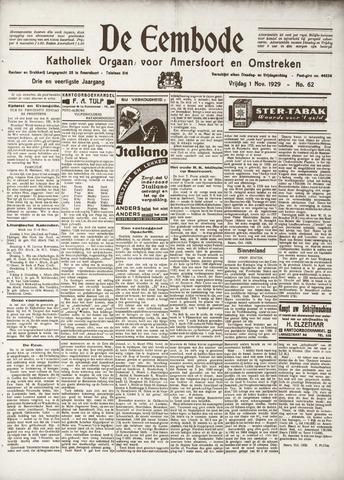 De Eembode 1929-11-01