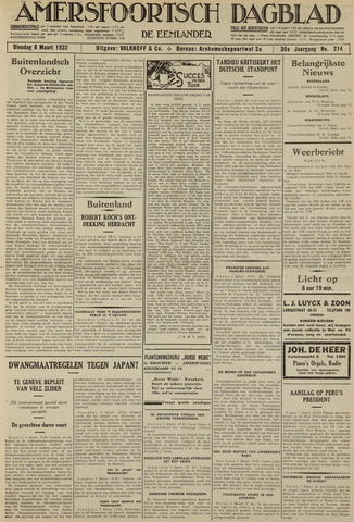 Amersfoortsch Dagblad / De Eemlander 1932-03-08