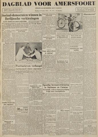 Dagblad voor Amersfoort 1946-10-22