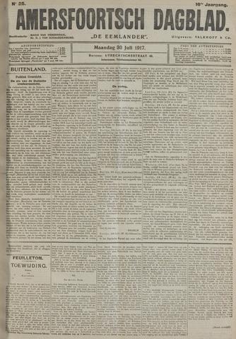 Amersfoortsch Dagblad / De Eemlander 1917-07-30
