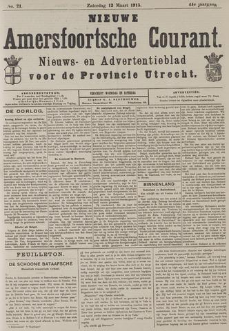 Nieuwe Amersfoortsche Courant 1915-03-13