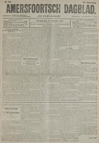 Amersfoortsch Dagblad / De Eemlander 1917-10-11