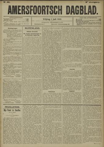 Amersfoortsch Dagblad 1910-07-01