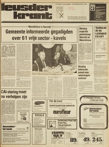 Leusder Krant 1980-09-25